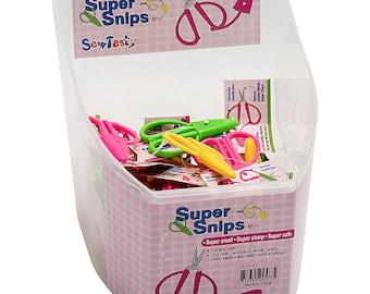 Mini Super Snips, Fun, Super Sharp Scissors, Makes a Great Gift!  Sharp Shears, Choose the color!