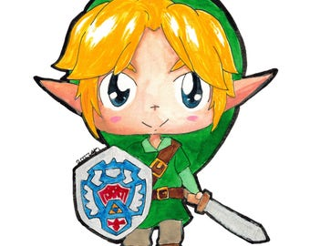 Link Chibi Sticker