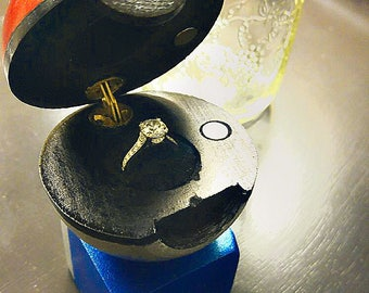 Pokeball Inspired Ring Box