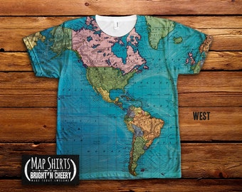 Vintage world map t shirt travel gift all over print shirt vintage world map t shirt all over print shirt ocean currents map tee geography shirt colorful world map ocean cartography tee gumiabroncs Choice Image