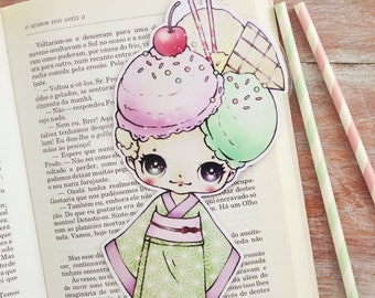 Cheri-chan - bookmark - made to order