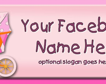 Cute Baby in Carriage Facebook Timeline Cover - Profile Photo - Cover Photo - Raggedy Dreams Designs