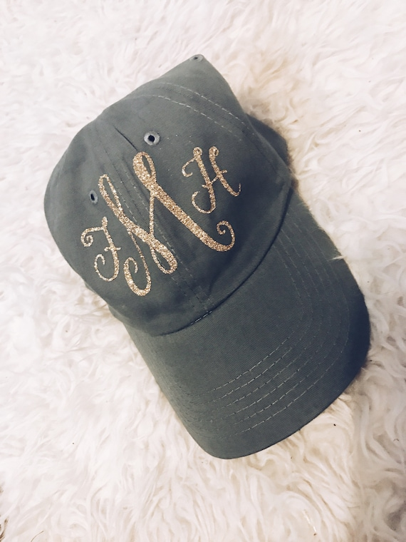 Custom Monogram Baseball Hat