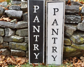 PANTRY Wall Sign