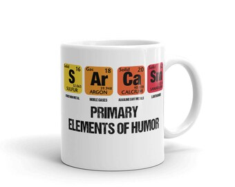 Periodic table mug etsy periodic table mug sarcasm urtaz Choice Image