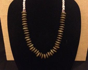 Handmade Purple Accent Necklace
