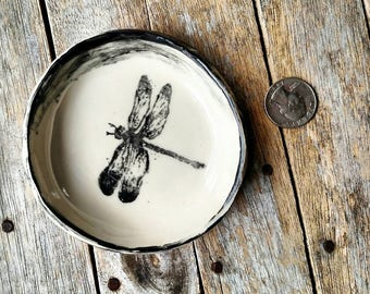 Dragonfly Ring Dish - Made to Order