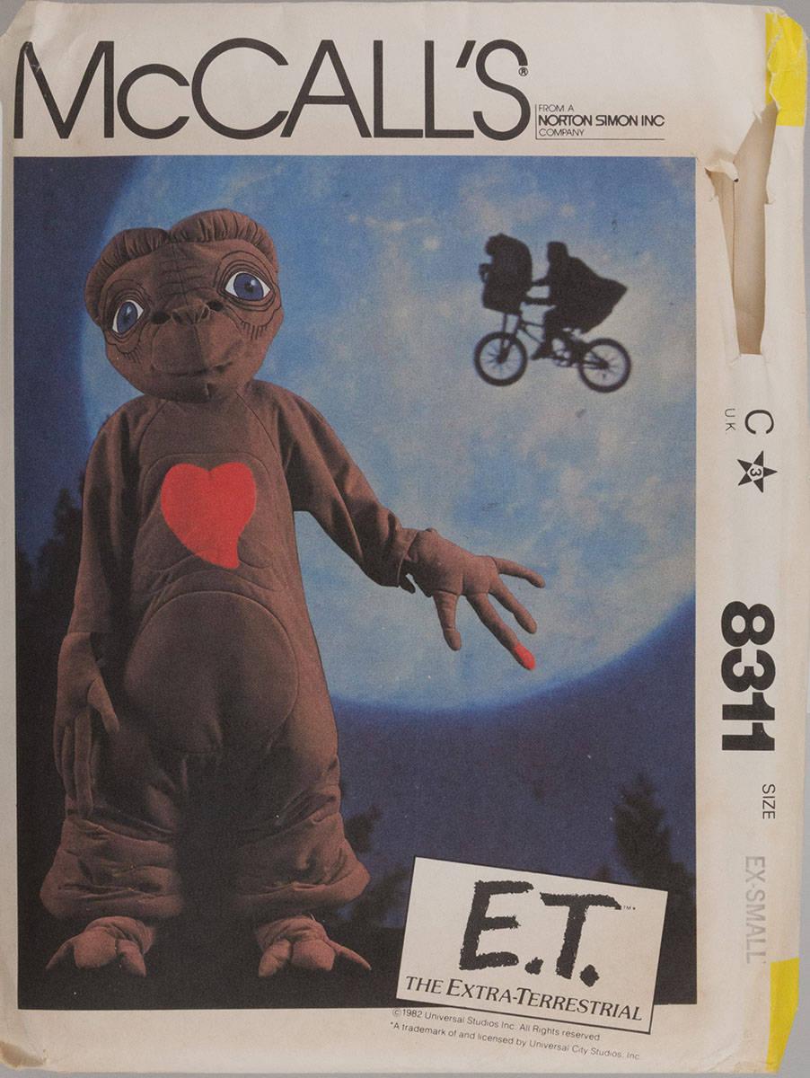 E.t. Kostüm Schnittmuster, McCall\'s 8311, Kindergröße 2-4, UNCUT, FF ...