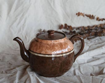 Vintage Ceramic Tea Pot / Kettle