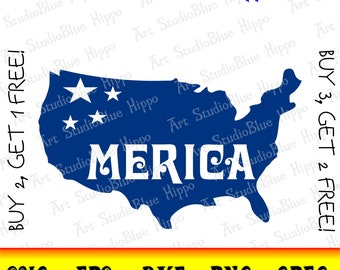 merica svg, 4th of july svg, fourth of july svg, 4th of july shirt, Cricut, Silhouette, July 4th svg, Shirt Decal