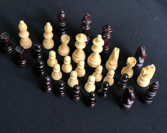 Figure for chess hand made OSCAR, table game OSCAR and figure for board game, chess piece handmade for travel board OSCAR