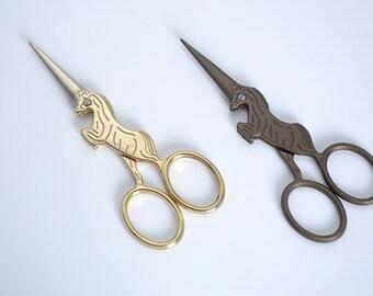 Horse patten Scissors,Vintage Style Scissors,Craft Scissors,Sewing Scissors,Paper Scissors