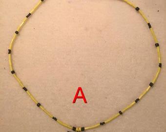 Pikachu Seedbead Necklace