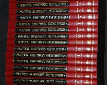 BTS The Practical Handyman's Encyclopedia's 1968 Set 1-22 (Minus Vol.6)