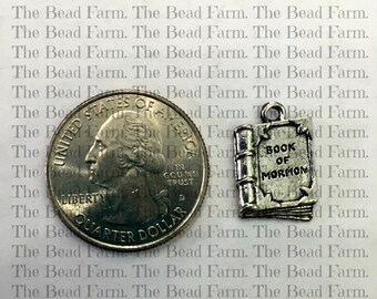 Pewter Book of Mormon Charm