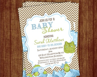Fishing baby shower invitation rustic gone fishing printable chevron fishing baby shower invitation fish and rod custom and printable invite filmwisefo