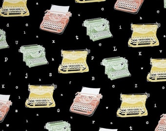 Ink & Arrow by Quilting Treasures - Talk to Me - Typewriters