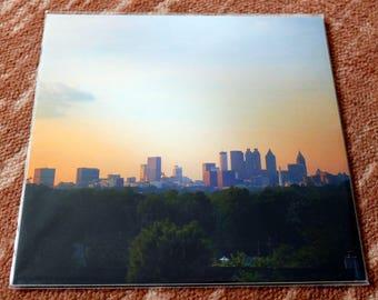 10x10 sleeved prints - Atlanta area subjects - Skylines, Cemeteries, Architecture