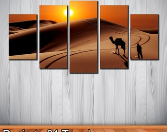 Modern decorative picture Desert theme