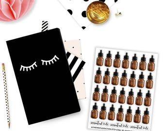 Essential Oil Stickers