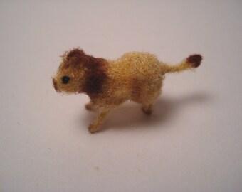 Tiny Lion for the Dollhouse