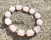 Beaded Bracelet, Rose Qua...