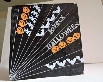 "Titled halloween card: ""Happy halloween..."""