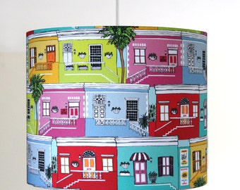 Cape Town Houses handmade ceiling lampshade