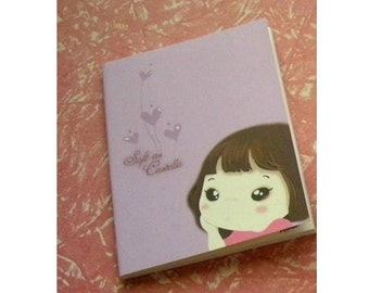 Notebook Journal intimate little girl