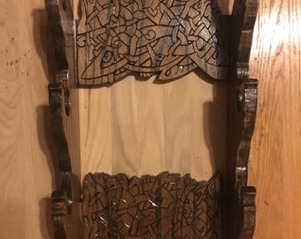 Norse Three Weapon Wall Rack
