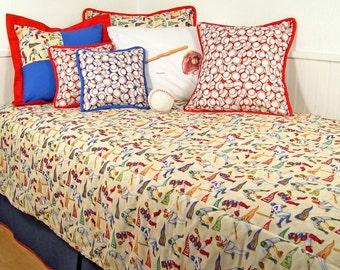 Baseball Twin Comforter.