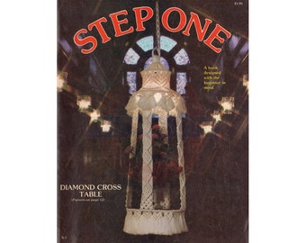 Step One - 18 Macrame Patterns PDF 31 pages