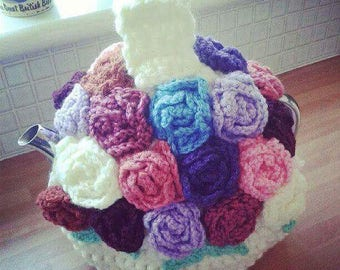 Vintage Style Rose Tea Cosy