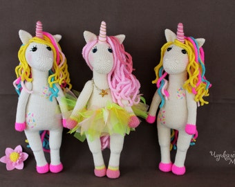 PATTERN Sweet unicorn PDF crochet toy pattern