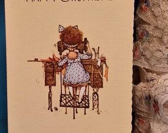 Vintage Holly Hobbie Birthday cards unused deadstock 1970's Sarah Kay