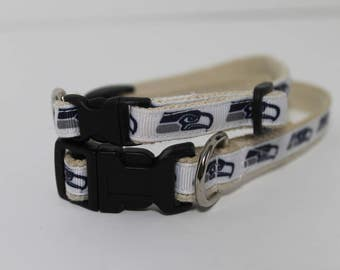 Seattle Seahawks cat or dog collar