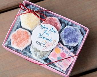 Assorted Bath bomb Gift Set. med mother's day gift set