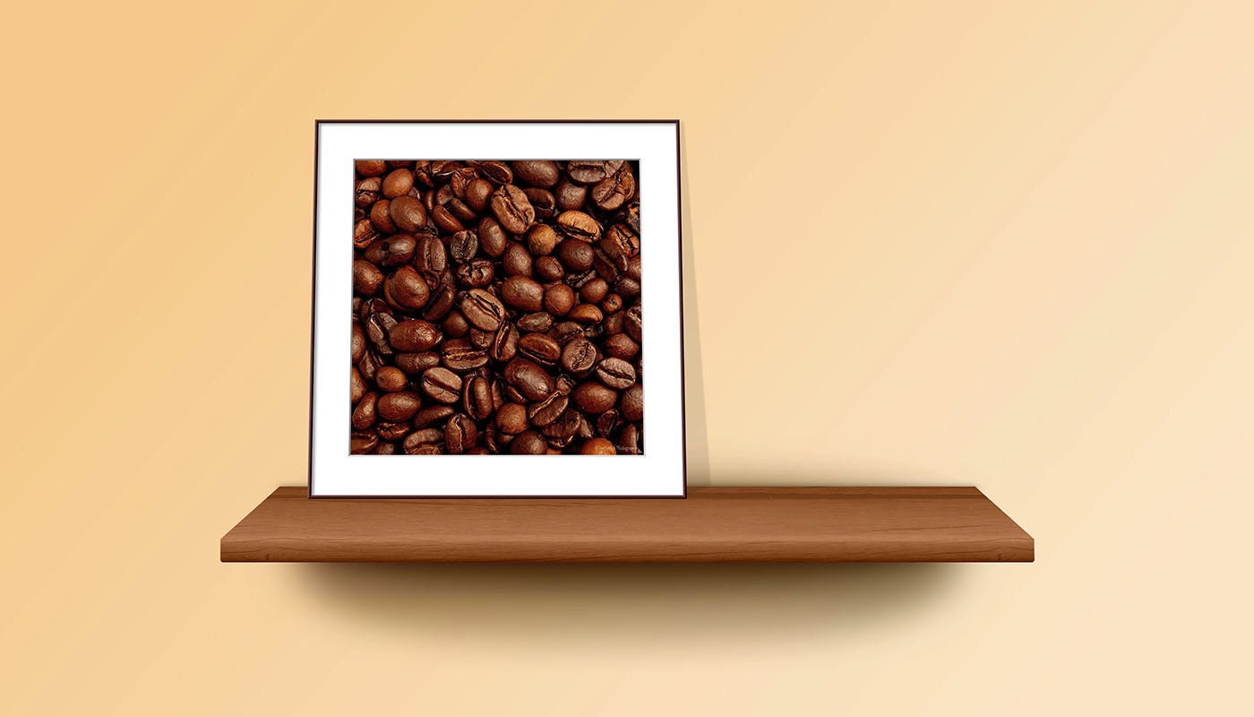 Minimalistic Art Coffee Wall Art Minimalist Art Print