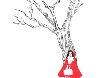 Little Red Riding hood - little print