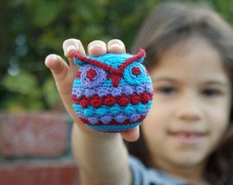 Crochet Pattern-- Hootie Who Owl Ornament --Crochet Pattern
