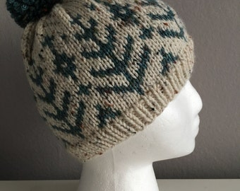 Faire Isle Baby Hat