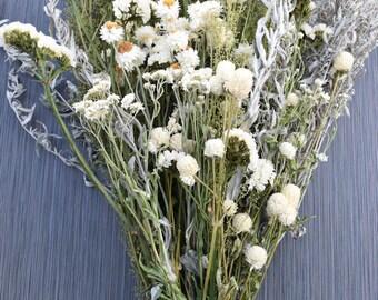 White Garden Flower Bouquet