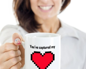 You've Captured My Heart - Gamer Mug - Custom Mug