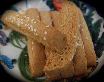 Paximadia Hand Made Traditional Greek Biscotti Cookies