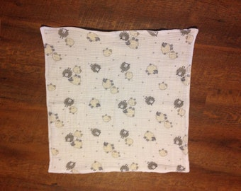 soft cuddly security baby blanket