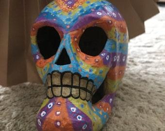Multi-colored Sugar Skull