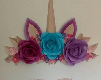 unicornio. decoracion de habitacion infantil, unicornio de acro iris