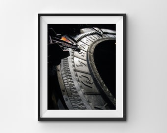 "Printed Photo 8x10 ""The Gate"" Original Stargate SG-1 Photograph"