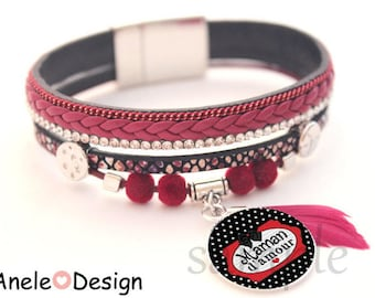 MOM gift idea Cuff Bracelet