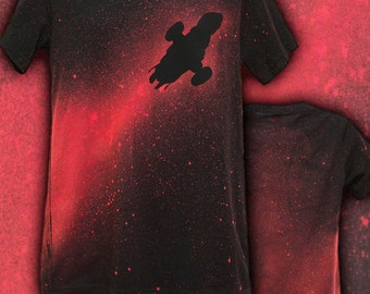 Traveling the 'Verse, Firefly Colored T-shirt - Bella Canvas brand - Mens